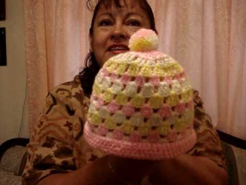 618ae70dda872 Gorritos tejidos a crochet - YouTube