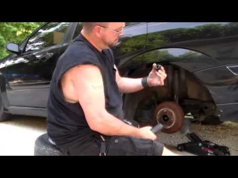 How To Change Wheel Bearings On A 2000 Ford Focus Youtube