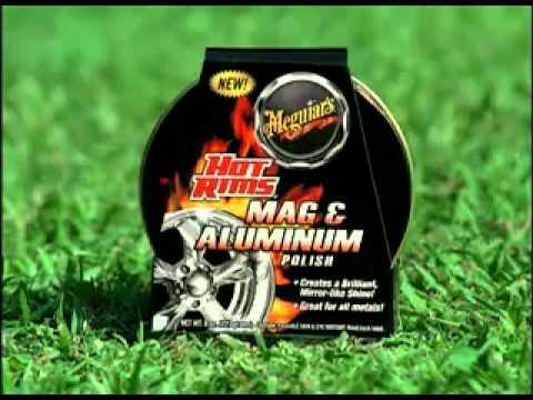Meguiar's Hot Rims Mag   Aluminun Polish (Ingles)