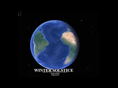 Earth Rotation and Winter solstice in northern hemisphere  Yalda