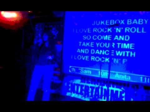 I love Rock n Roll karaoke at Pickled Parrot
