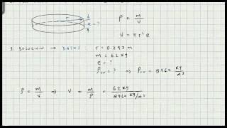 Ejercicios de Aplicacion Densidad - Masa - Volumen - Video 152