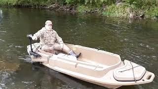 Лучшая лодка для охоты и рыбалки на малых реках,озерах и болотах