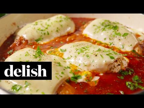 Mozzarella Chicken | Delish