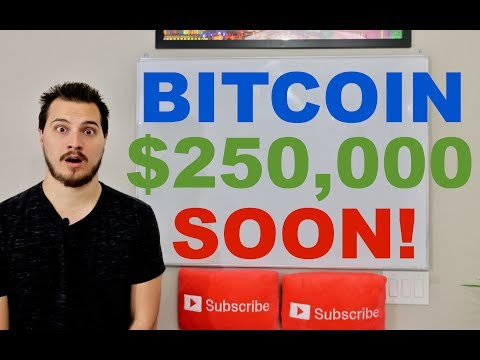 Bitcoin $250,000 by 2022?!