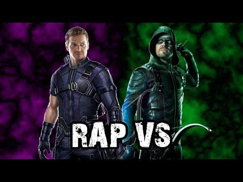 GREEN ARROW Vs HAWKEYE RAP | RAP VS 👊 | Flecha Verde Vs Ojo De Halcón | HLBeast Ft. JK10 Music
