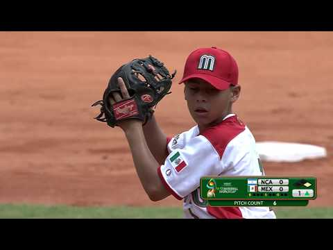 Nicaragua v Mexico - Super Round - WBSC U-12 Baseball World Cup