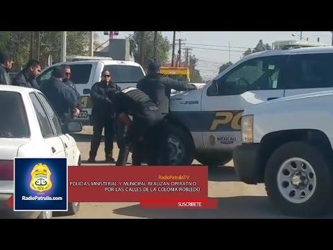 Operativos en la zona Oriente de Mexicali