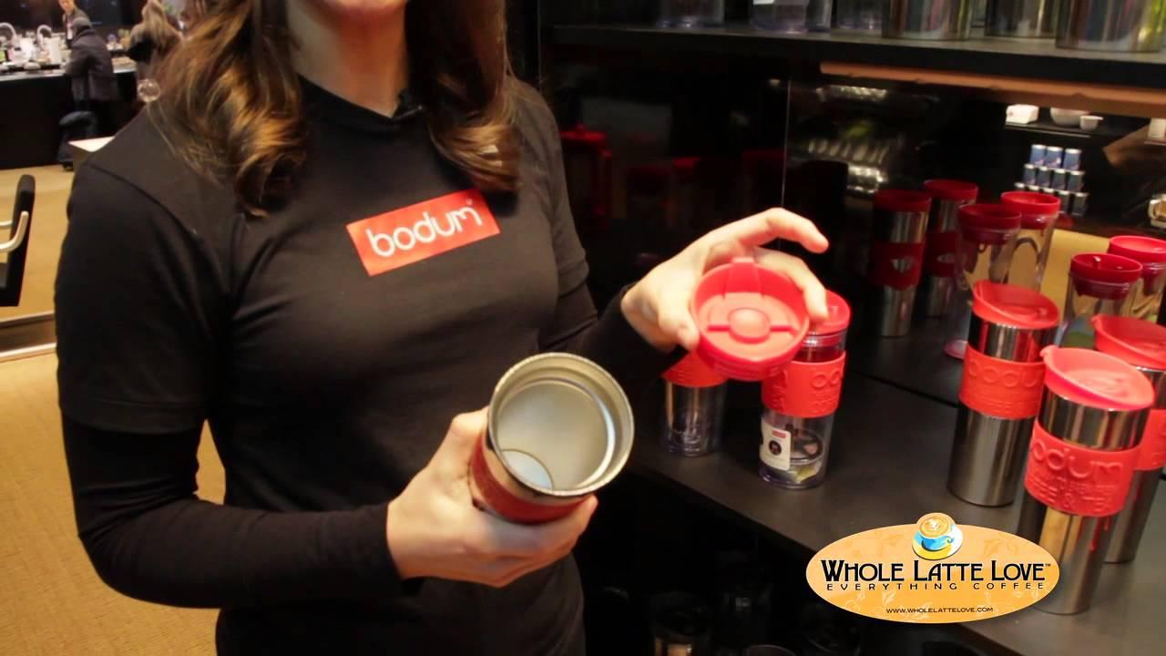 Bodum Travel French Press Coffee Maker - YouTube