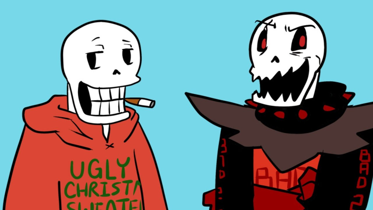 Christmas Party Au Comic.Christmas Party Au Part 17 The First One With The Underfell