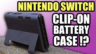 """Nintendo Switch Clip-On Battery Case - Hmmmmm... NOPE! - """"SwitchCharge"""""""