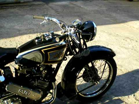 ajs 1000 restaurada- año 1938