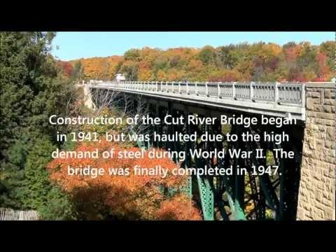 Cut River Bridge - Upper Peninsula of Michigan