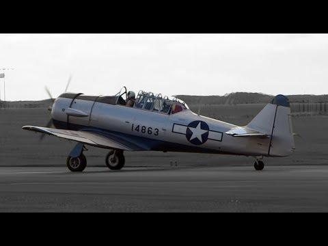 V-Rare Blackpool Visitor! North American T-6 Texan/SNJ/Harvard 3(G-BGOR 88-14863)