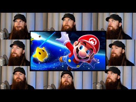 Super Mario Galaxy - Gusty Garden Galaxy Acapella ⭐
