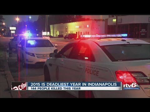 2015 now deadliest year in Indianapolis history