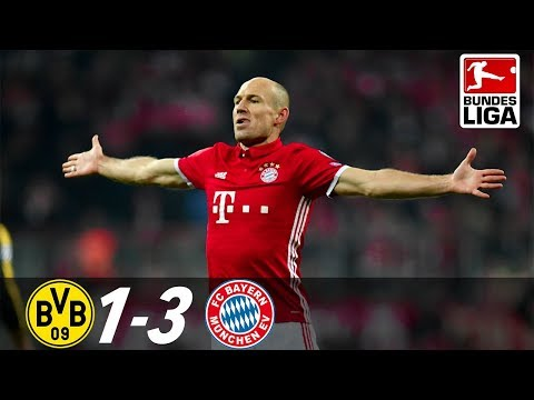 Borussia dortmund vs bayern munich 1-3 bundesliga 2017 - full special highlights and interviews