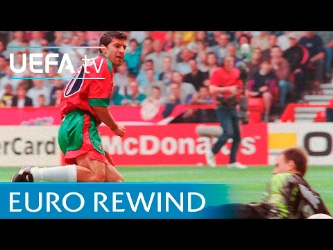 Portugal V Croatia: EURO '96 Highlights