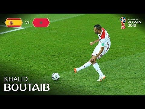 Khalid BOUTAIB Goal - Spain v Morocco - MATCH 36