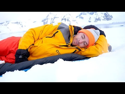 Antarctica - Camping on the ice
