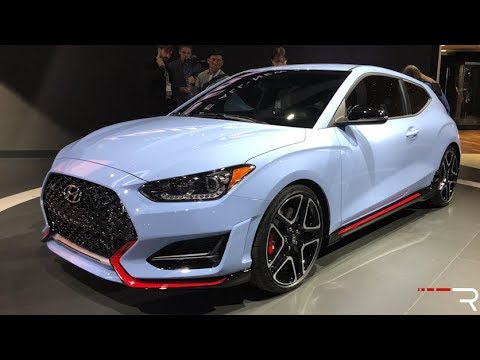 2019 Hyundai Veloster N Redline First Look 2018 NAIAS