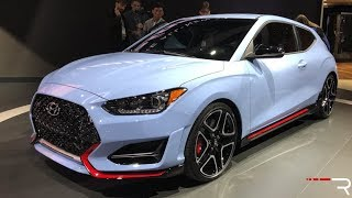 2019 Hyundai Veloster N Redline First Look 2018 NAIAS смотреть