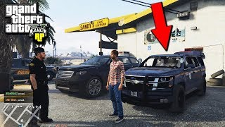 TOWED a POLICE SUV and got Rewarded! (GTA RP)
