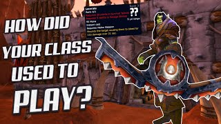 Classic WoW: How Did Your Class Play With Old OLD Talents?