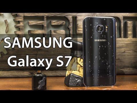 Samsung Galaxy S7 обзор. Подробный и красивый обзор Samsung Galaxy S7 от FERUMM.COM