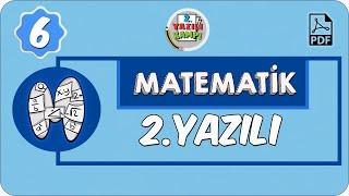 6. Sınıf Matematik | 1. Dönem 2. Yazılıya Hazırlık