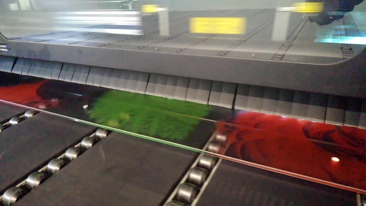 УФ печать на стекле 1