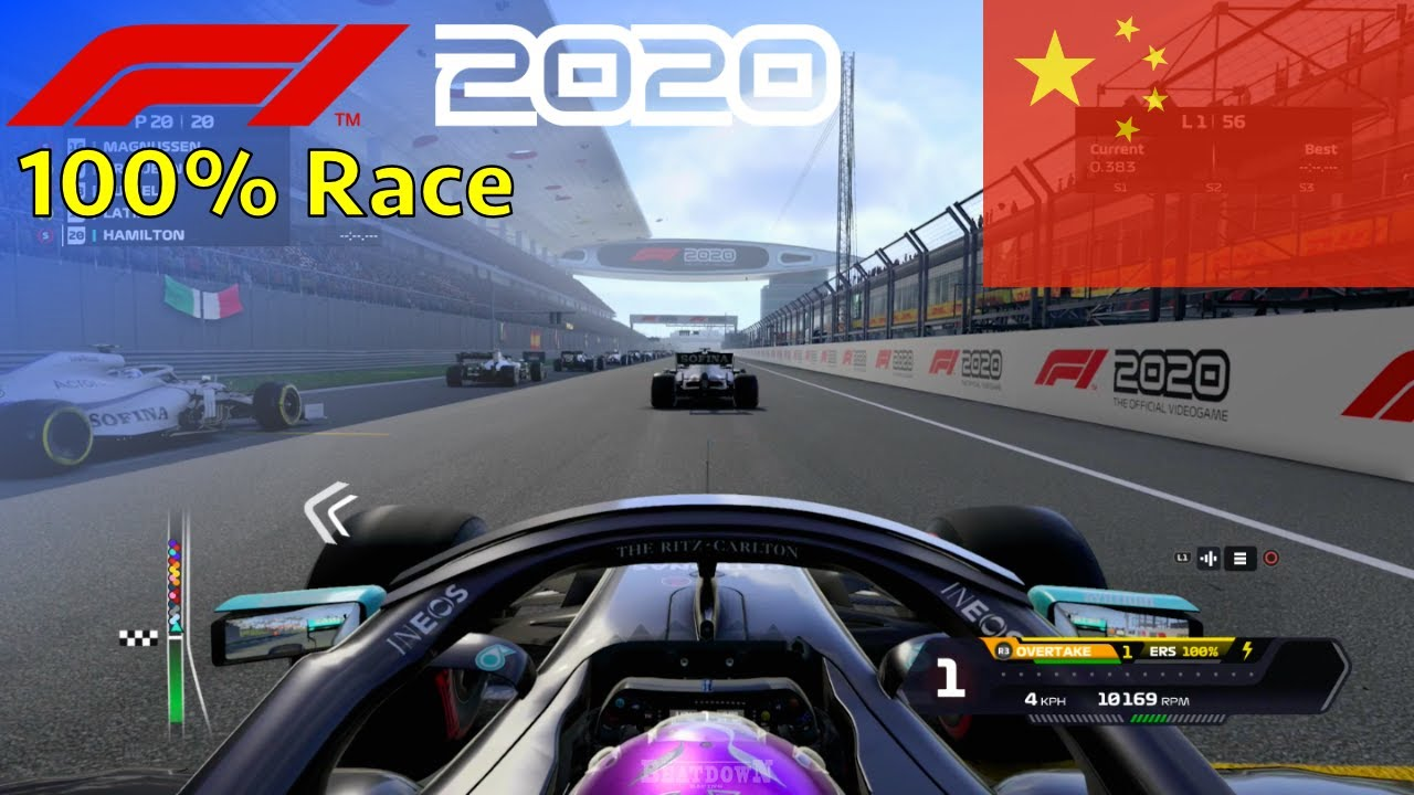 F1 2020 - Let's Make Hamilton 7x World Champion #4: 100% Race China