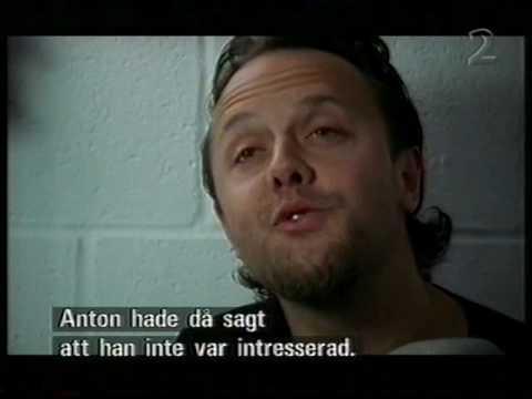 Anton Corbijn and Lars Ulrich Metallica