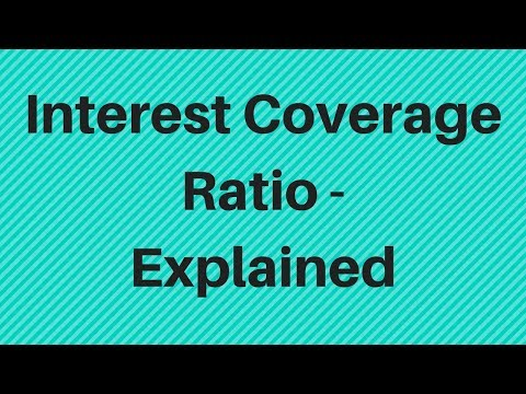 Interest Coverage Ratio - Explained