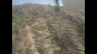 Lovely Landing at Bhojpur Airport Nepal