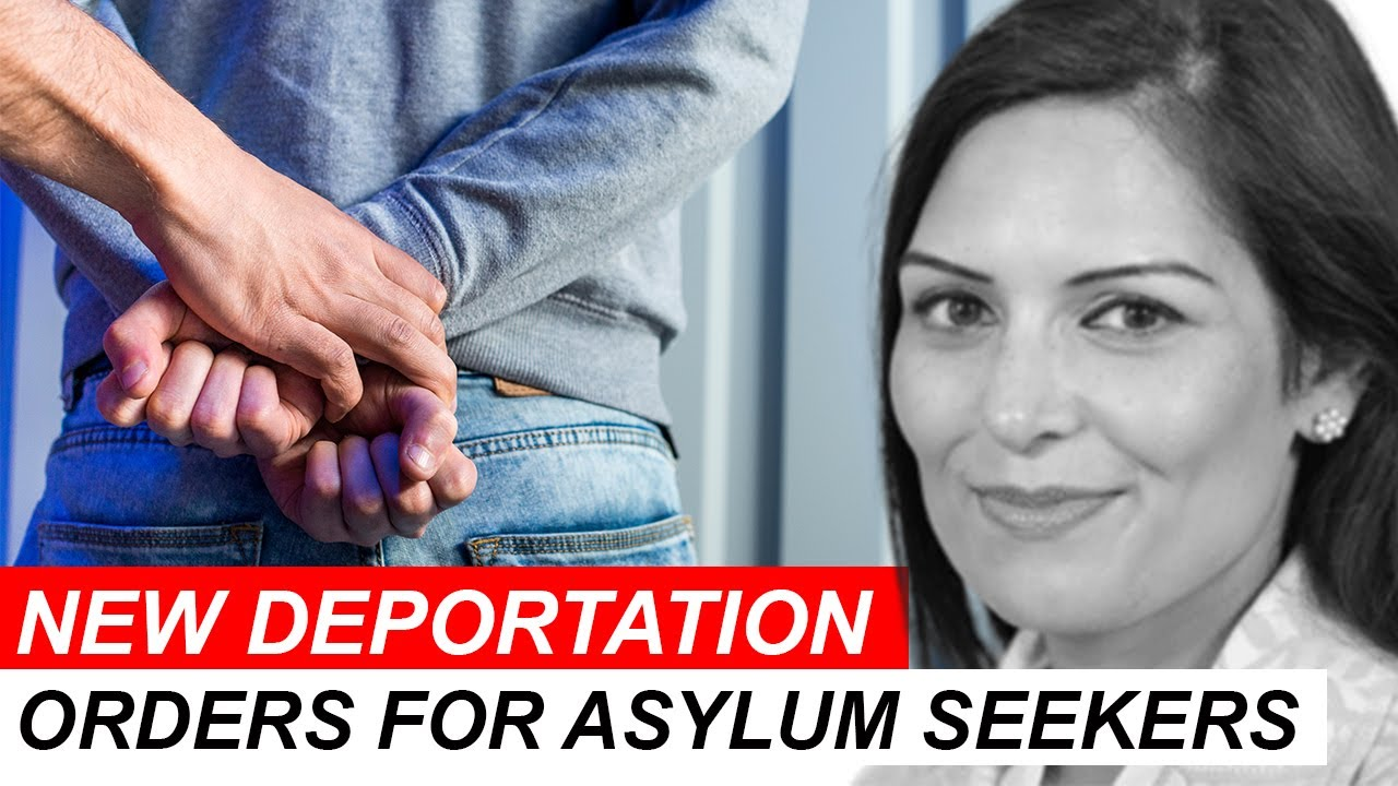 1000'S OF ASYLUM SEEKERS TO BE DEPORTED BY THE HOME OFFICE