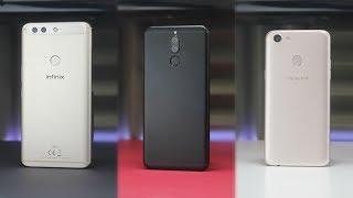 Giveaway ???? | Huawei Mate 10 Lite vs OPPO F5 vs Infinix Zero 5 - مقارنة كاملة