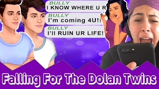 I'M Being CYBER BULLIED! Grayson and Ethan Dolan Help Me Through It! - Falling For The Dolan Twins