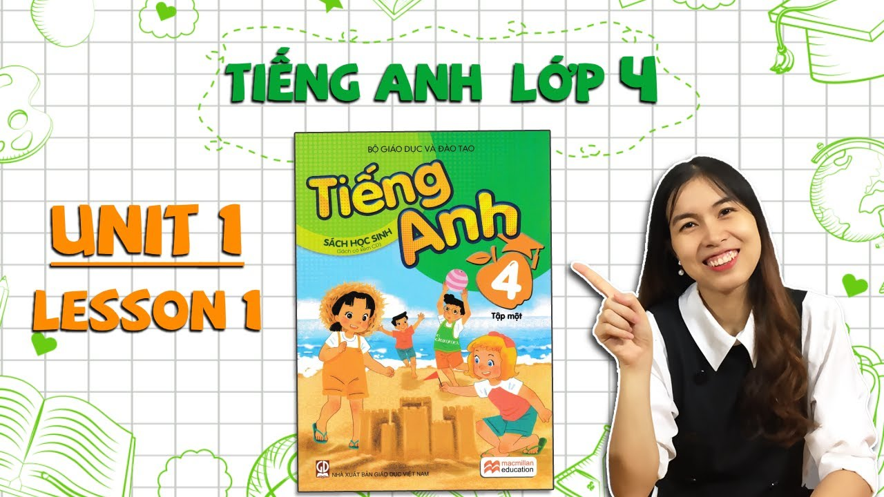 Học tiếng Anh lớp 4 – Unit 1. Nice to see you again – Lesson 1 – THAKI