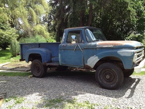 1962 Ford F250 4x4