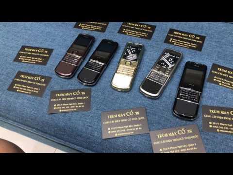 Điện Thoại Nokia 8800 Gold arte , 8800 Arte , 8800 saphia zin giá rẻ tại tphcm