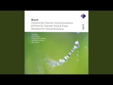 8 Pieces For Clarinet, Viola & Piano, Op. 83: VI. Andante Con Moto