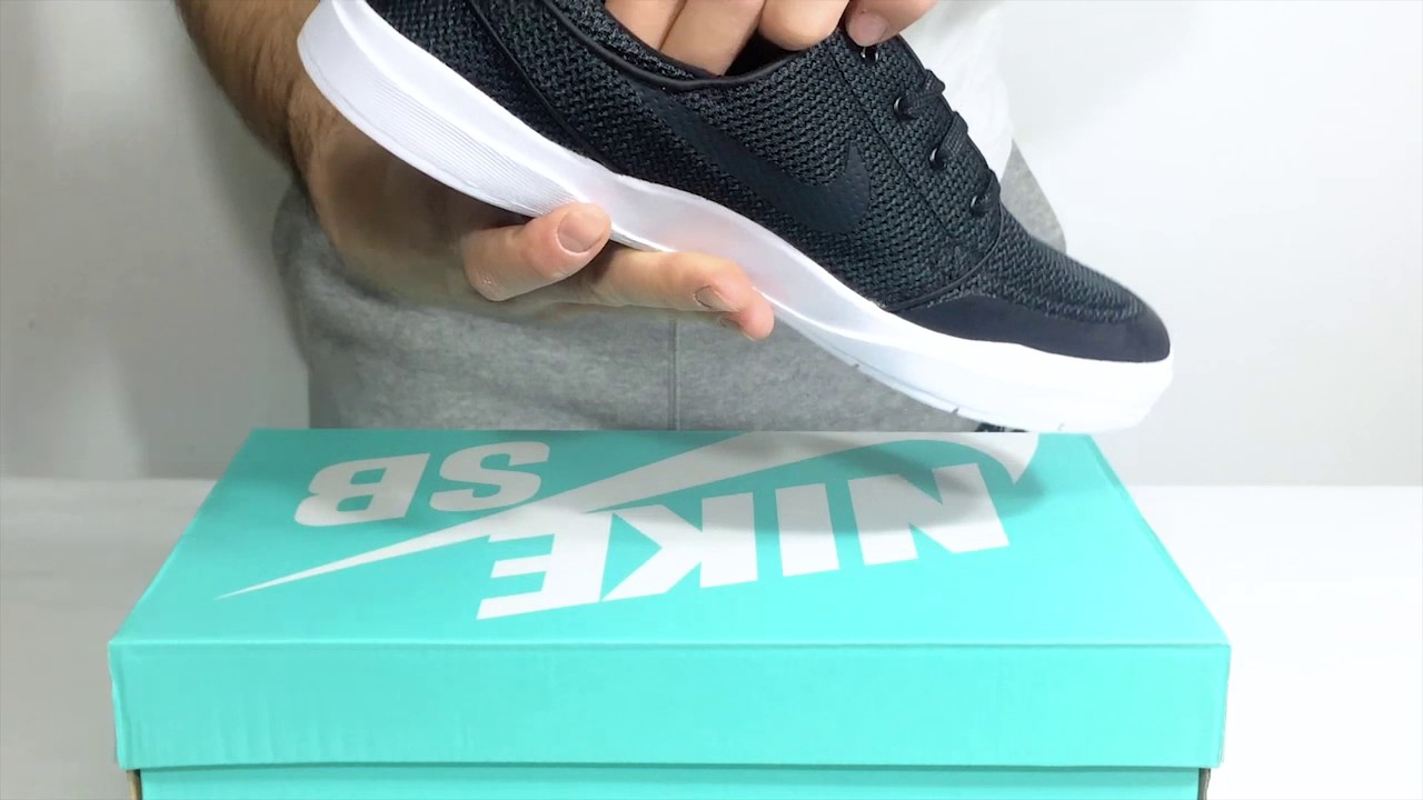 41cbb77bb545 Nike SB Stefan Janoski Hyperfeel Xt anthracite black - YouTube