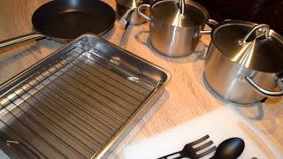 видео Кухонная посуда отзывы. Лучшая кухонная посуда, рейтинг 2018. 381 отзыв