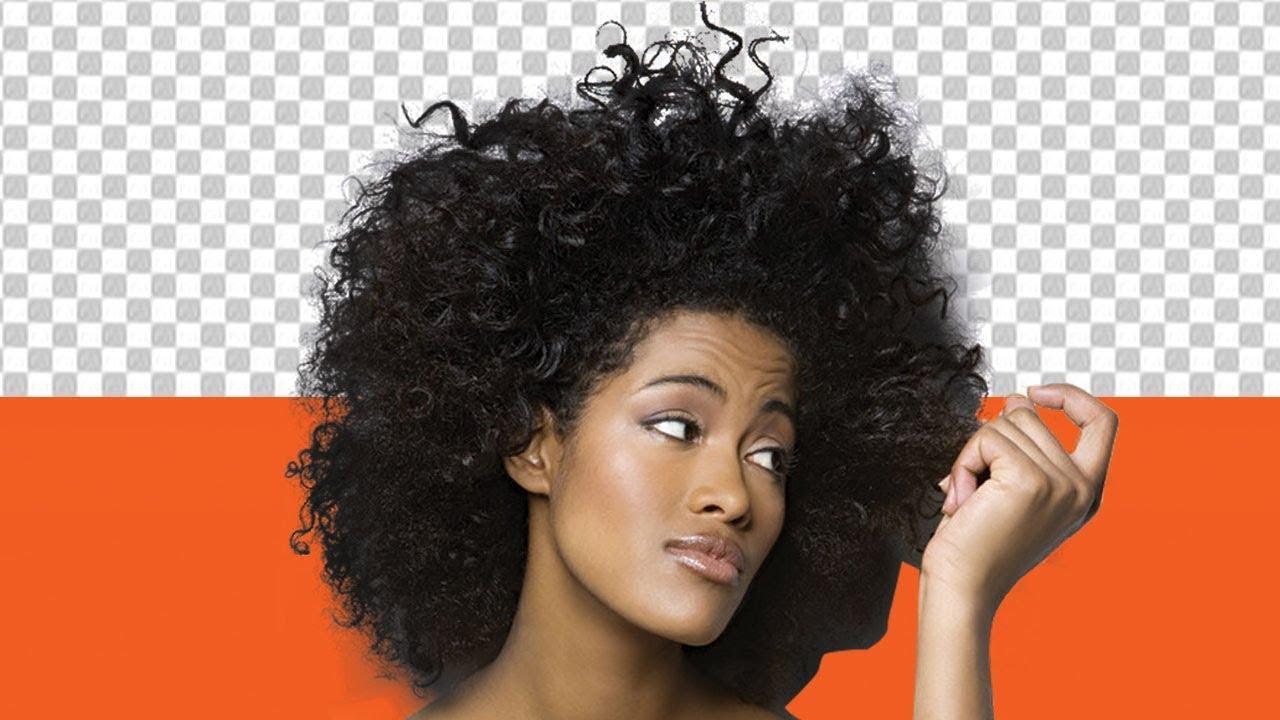 cut out hair in Photoshop cc