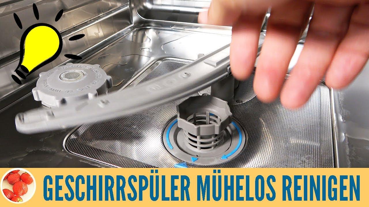 Spülmaschine reinigen: Geschirrspüler mit Natron und Essig sauber machen