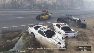 NAJLEPSZY DUET POLICJANTÓW VS BANDYCI - FiveM czyli GTA Online - Hogaty i Shepard #04