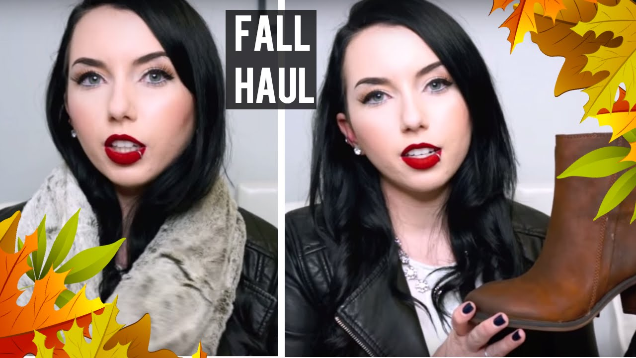 Fall Clothing Haul 2015 Hm Victorias Secret Sweaters Boots