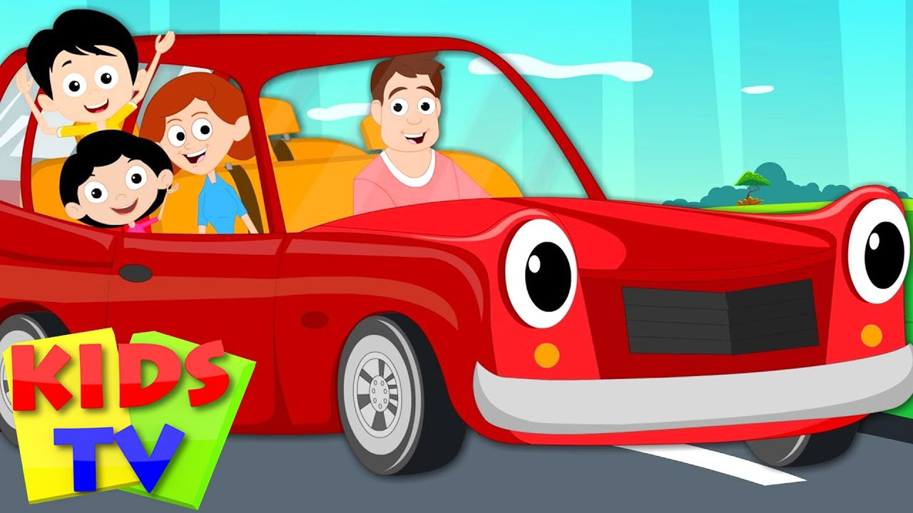 Daddy S New Car Kids Tv Original Nursery Rhymes Youtube Rhymes