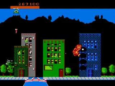Rampage Nes Review Youtube